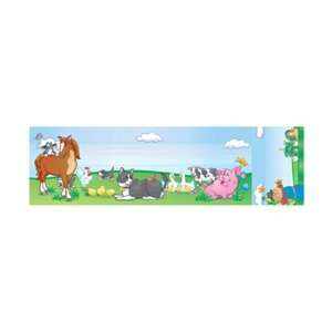 SEAT AND CUBBY SIGNS FARM ANIMALS Toys & Games