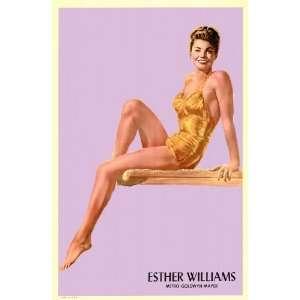 Esther Williams Movie Poster (11 x 17 Inches   28cm x 44cm