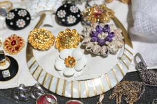 HUGE ANTIQUE ESTATE VINTAGE JEWELRY RHINESTONE GLASS SIGNED LOT 245