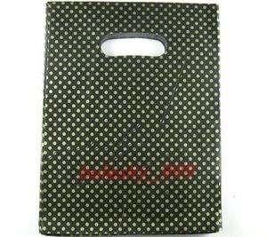 97pcs Green Dot Shopping/Gift Plastic Bags 20x15cm