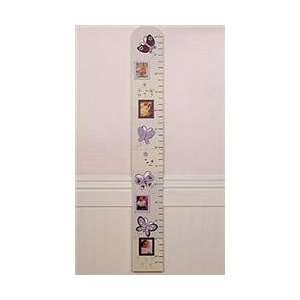 Lilac Garden   Growth Chart Baby