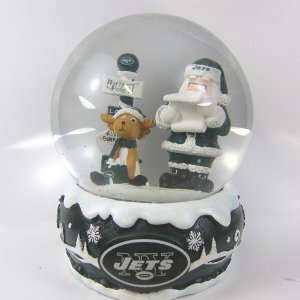 New York Jets 2011 NFL Holiday Snow Globe