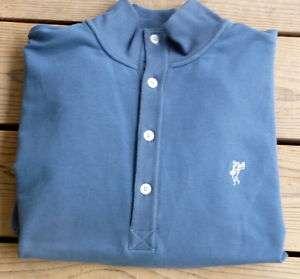 Mens Ashworth PGA Carolinas Green Fleece Shirt Teal M