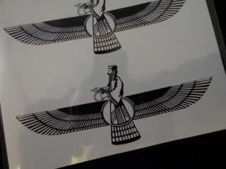 Temporary Tattoo Iranian Persian Symbol Iran Persia ZoroastrianZoroastrian Tattoo