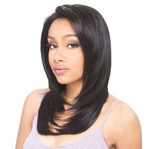 Model Model Synthetic Baby Hair Lace Front Wig Phoebe Color 1 Beauty