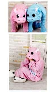 Kigurumi Animal Character Costume Cosplay Pajama Halloween Party*Pink