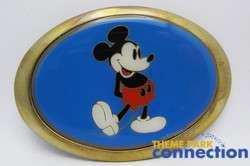 Disney Vintage 1983 Harley Davidson Motorcycle Mickey Mouse Belt
