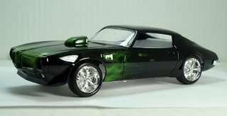 Pontiac Firebird Trans Am Green True fire hardbody slot car, model kit