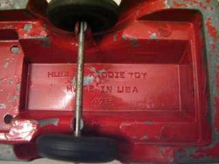 hubley kiddie toy fire truck