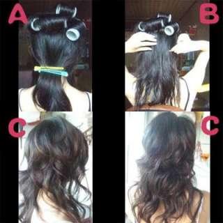 14pcs Lady DIY Sub Master Hair Curler Curling Tube