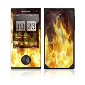 Furious Fire Decorative Skin Cover Decal Sticker for HTC