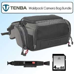 Tenba 632202 Waistpack Shootout Camera Bag Silver Black
