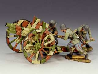King And Country WWI German 77 MM Artillery Set. (1917). Being Retired