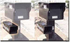 FORT KNOX MAILBOX   Heavy Duty News Paper box for mailbox ( welded to
