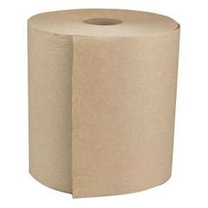 Green Hardwound Roll Towels, Natural White, 8 X 800