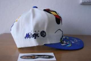 ORLANDO MAGIC MICKEY MOUSE SHAQ Snapback Hat 1990s,Script,Disney