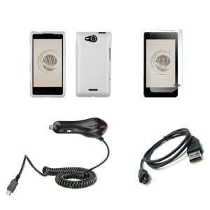LG Lucid 4G (Verizon) Premium Combo Pack   White