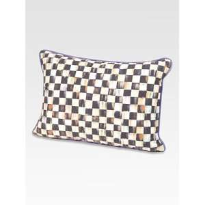 MacKenzie Childs Courtly Lumbar Pillow Home & Kitchen