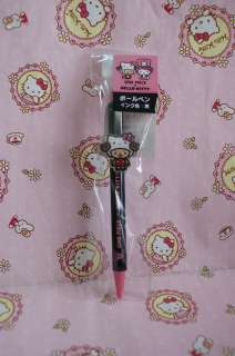 Kitty x One Piece Series Stationery Black Ball Point Pen 2011 New