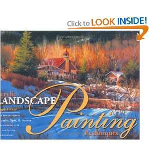 Acrylic Landscape Painting Techniques [Hardcover] Hugh