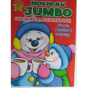 Holiday Jumbo Coloring & Activity Book (9781601399427