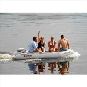 Inflatable Motor Boat with High Pressure Air floor.