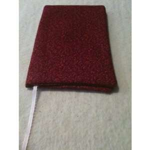 HAND CRAFTED FABRIC PAPERBACK BOOK COVER