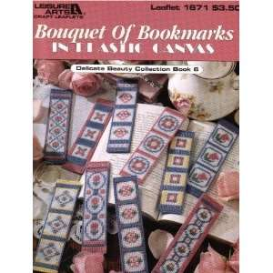 Bouquet of Bookmarks in Plastic Canvas (Delicate Beauty