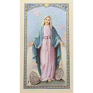 Oracion a La Milagrosa Holy Card (700 055)   10 pack (S24