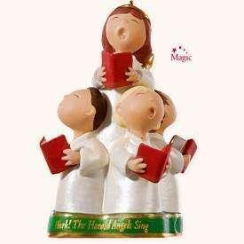 Hallmark Ornament HarkThe Herald Angels Sing MIB