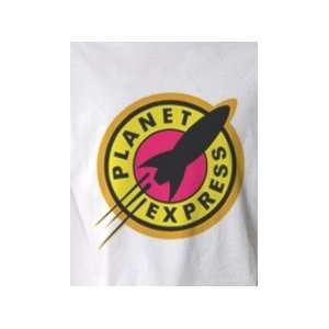 Futurama Planet Express   Pop Art Graphic T shirt (Mens