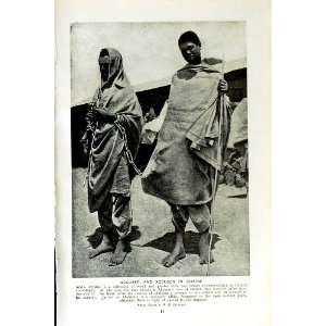 c1920 ADDIS ABBABA ABYSSINIA HARRAR GALLAS DANCE GIRLS: Home & Kitchen