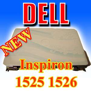 OEM NEW DELL Inspiron 1525 1526 LCD Top Lid Cover KY322