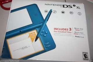 Genuine Nintendo DSI XL Manual, Box & Big Stylus Blue