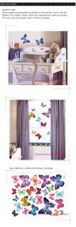 New Butterfly Home Wall Mural Vinyl Decal Sticker PS004