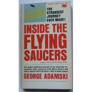 Inside the flying saucers: George ADAMSKI: Books