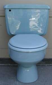 Vintage Pink American Standard Toilet New Innards Seat