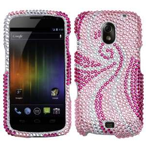 For Samsung Galaxy Nexus Crystal Diamond BLING Hard Case Phone Cover