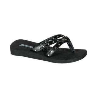 DEMONIA Stroll 09 Gothic Punk Goth Sandals Shoes Flip Flops Thongs