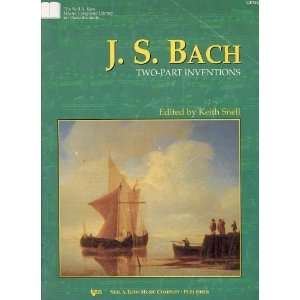 J.s Bach Two part Inventions (Niel A. Kjos Master Composer