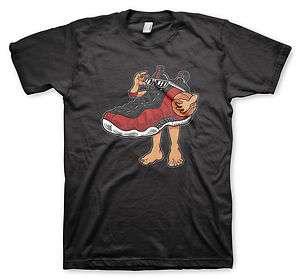 Red Foamposite T Shirt Nike Jordan Lebron 1 2 3 4 5 6 7 8 9 10 11 Foam