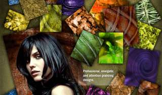 of 1000 Digital Backgrounds and 150 Photoshop Templates