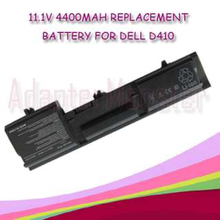 New Laptop Battery for Dell Latitude D410 Y6142 44WH