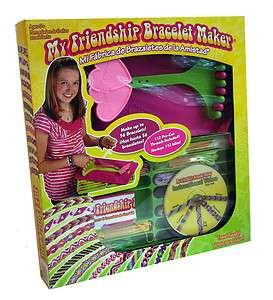 My Friendship Bracelet Maker Travel Ready Set with Instructional Video