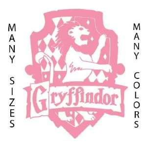 6 Tall   Gryffindor   Soft Pink   Harry Potter Custom Art