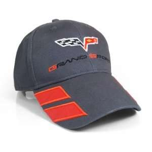Corvette C6 Grand Sport Gray Baseball Cap Automotive