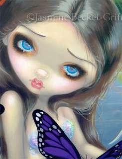 Halcyon Mermaid Jasmine Becket Griffith big eye fantasy fae fairy art