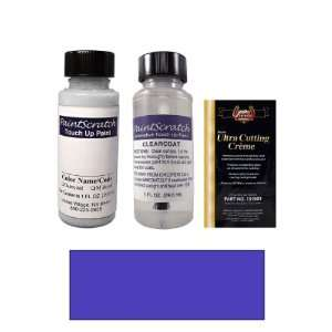 1 Oz. Medium Melina Blue Metallic Paint Bottle Kit for