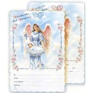 in English, Baby Girl and Guardian Angel   4.5 x 7 Office Products