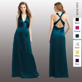 Halter Neck Party Evening Gown Formal Dresses AU 6~24